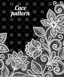 fl lace pattern in white color vector image vector artwork of backgrounds textures to zoom