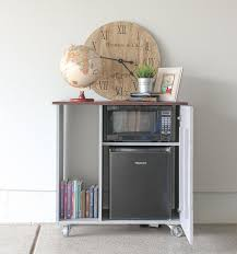 diy mini refrigerator storage cabinet free plans sawdust sisters mini refrigerator and microwave storage cabinet i need this for my guest room