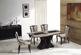 cream and black dining chairs