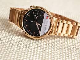 huawei watch rose gold. sarah tew/cnet huawei watch rose gold