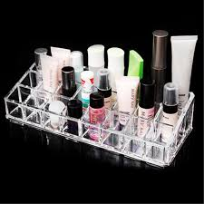 Lipstick Display Stands New Hot 100 Lipstick Clear Acrylic Makeup Organizer Cosmetic 23