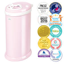 Ubbi Steel Diaper Pail Light Pink Ubbi Steel Diaper Pail Light Pink Walmart Com