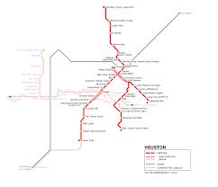 Houston Proposed Light Rail Map Urbanrail Net Usa Houston Light Rail