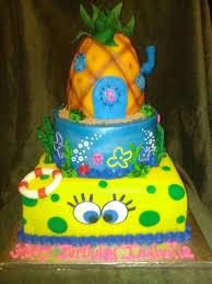 Download Spongebob Birthday Cakes Abc Birthday Cakes