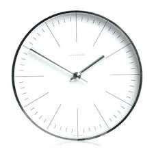 office wall clocks. White Modern Wall Clock Clocks Max Bill Office With Lines Black And C