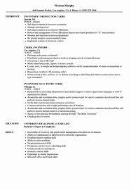 Inventory Control Job Description Resumes Inventory Control Resume Unique Inventory Specialist Job Description