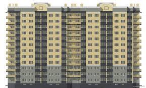 Курсовые и дипломные проекты Многоэтажные жилые дома скачать  Дипломный проект 12 ти этажный монолитный жилой дом 33 х 18 м в г