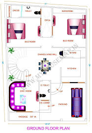 modern electrical layout house plan map out plans maps free design
