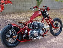honda cb750 chopper right rear envy cycles bikes pinterest