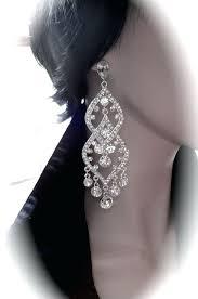 pageant earrings chandelier chandelier earrings rhinestone earrings by pageant rhinestone chandelier earrings