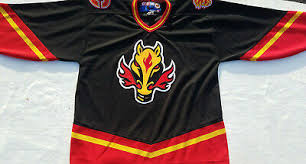 All 31 nhl teams are preparing to unveil new reverse retro jerseys next week, with the calgary flames teasing a new black jersey on thursday. مرض ملعب التجاعيد Calgary Flames Jersey Horse Dsvdedommel Com