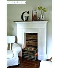 fake fireplace cardboard fake fireplace decor ways to dress up your no fire necessary cardboard mantel