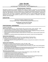 Click Here To Download This Overhaul Manager Resume Template! Http ...