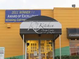 The Kitchen Design Center Of Maryland Entrance Awning