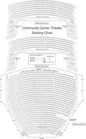 Sacramento Community Center Theater Seating Chart 9 Community Center Theatre Seating Chart Website