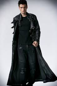 men leather coat winter long leather coat genuine real leather trench coat uk16