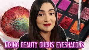 mixing every beauty guru s