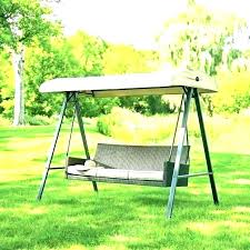 3person patio swing home and furniture wonderful garden treasures porch swing in replacement canopies for s 3person patio swing
