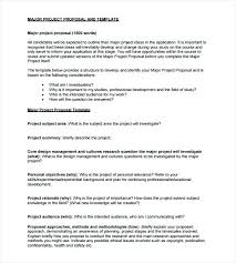 Inspirational Marketing Research Proposal Template Funding Sample ...