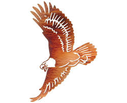 soaring american eagle metal wall hanging on american eagle metal wall art with soaring american eagle metal wall hanging products pinterest