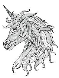 Full Size Coloring Sheets Unicorn Rainbow Coloring Pages Page For