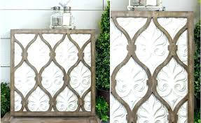 wall arts metal and wood wall art distressed white decor sold out diy metal and wood