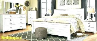 French Style Pearl White Bed With Storage Box In Beds From Furniture ...