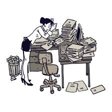 messy desk clipart. Plain Messy Disorganized Clipart Group Messy Desk  Throughout R