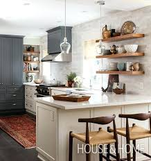 kitchens that dare to bare all with open shelves shelving kitchen ideas design decorating