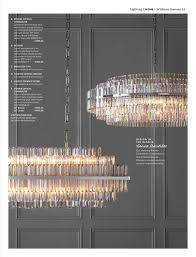 lighting home williams sonoma 61 a phoebe crystal chandelier combines retro art deco style
