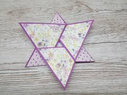 Star Fold Cards Gingerninjacrafts