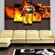 5 panel wall art the fire multi panel canvas wall art 5 panel wall art