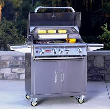 this grill cart has room to prepare food and great storage for you tools and propane tank