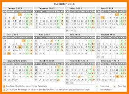 Kalender 2015 Excel Jahreskalende 2015 Kalender Zum Ausdrucken 2015 2019 07 20