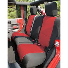 neoprene jeep seat covers all things jeep rear seat cover for jeep wrangler jk 2 door