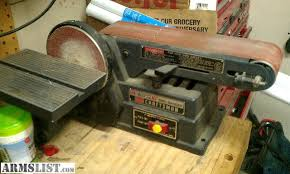 craftsman belt and disc sander. craftsman belt disc sander and e