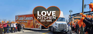 little caesars pizza > giving back > love kitchen
