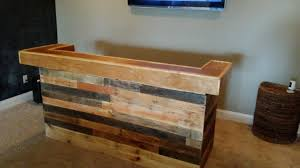 Barnwood Bar buy a custom pallet wood and barn wood bars for entertaining made 4977 by xevi.us