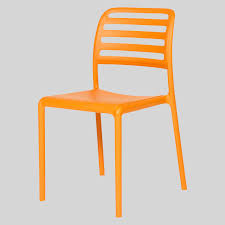 outdoor cafe chair. bosca outdoor cafe chairs - orange chair