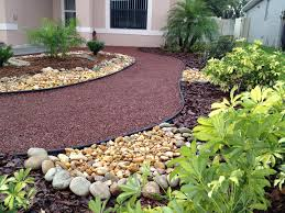 Small Picture Small Landscape Ideas No Grass Front Yard Simple Landscaping For