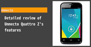 Unnecto Quattro Z - Features and ...