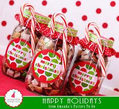 office celebration ideas. 11. Mason Jar Puppy Chow With A Candy Cane Office Celebration Ideas
