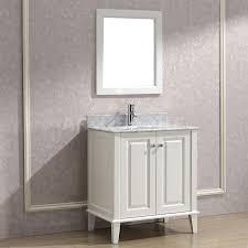 white bathroom cabinets. Art Bathe Lily 30 White Bathroom Vanity Cabinets E