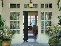 catchy open front door from inside with house front door open for modern concept