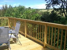 decking handrails timber glass and aluminium deck rails hand rails for decks t98