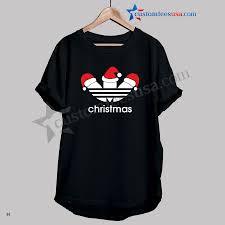 Christmas Adidas Parody Funny T Shirt Adult Unisex Size 3xl