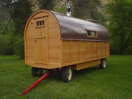 Small Picture The exterior of the wagon contains laminated oak struts a TG