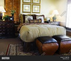 Plantation Style Bedroom Furniture Plantation Style Bedroom Design Stock Photo Stock Images Bigstock