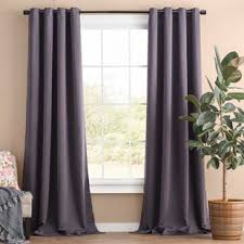 Gray and beige curtains Striped Curtains Quickview Joss Main Curtains Drapes Joss Main