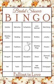 Wedding Bingo Words Pin By Celebrate Life Crafts On Falling In Love Bridal